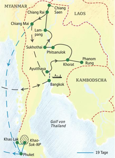 Unsere umfassende Studienreise nach Thailand