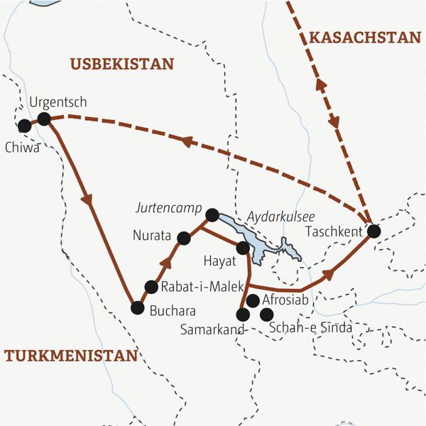 Usbekistan Rundreisen junge Leute 2019