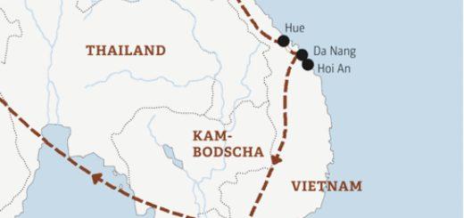 Alle wichtigen Höhepunkte auf unserer beliebten Rundreise durch Vietnam