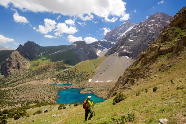 Abstieg zum Alaudin See - Darek Wylezol