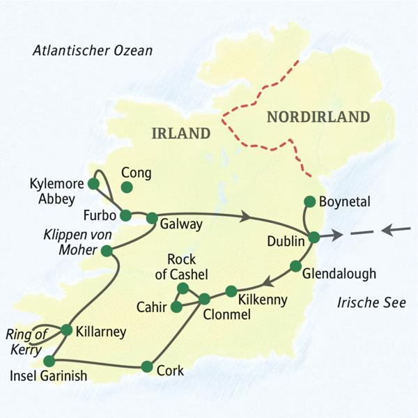Irland rundreise 2020