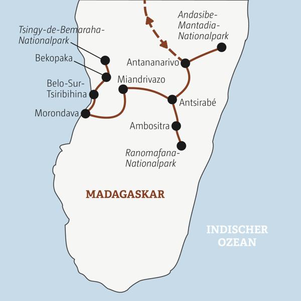 Rundreise zu den Natur-Highlights Madagaskars Young Traveller