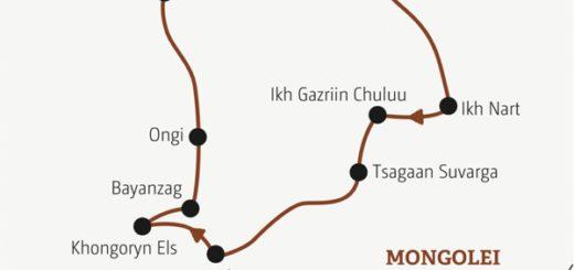 Zwei Wochen Mongolei für Traveller zwischen 20 und 35: eine echte Abenteuerreise für robuste Naturen Young Traveller