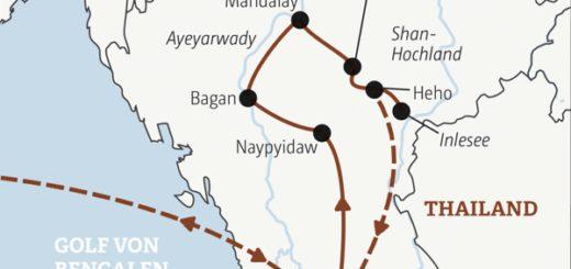 17-tägige Rundreise zu den Highlights von Myanmar: nach Yangon