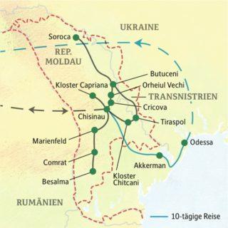 Eine Studienreise in die Republik Moldau