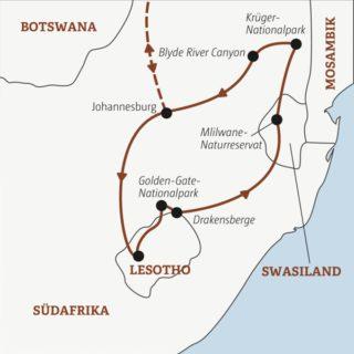 15 Tage südliches Afrika kompakt: Stadtleben