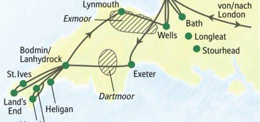 Die Höhepunkte von Cornwall