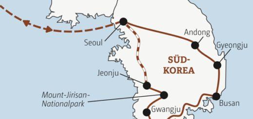 Zwölftägige Rundreise durch Südkorea