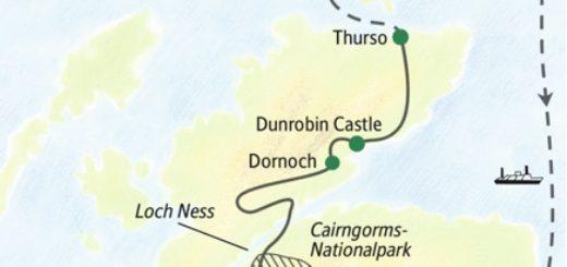 Durch die Highlands zu den Inseln im hohen Norden