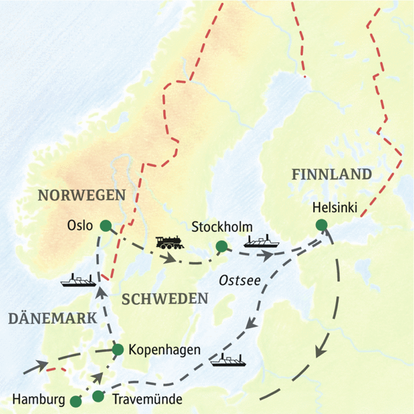 Vier faszinierende Hauptstädte des Nordens: Kopenhagen