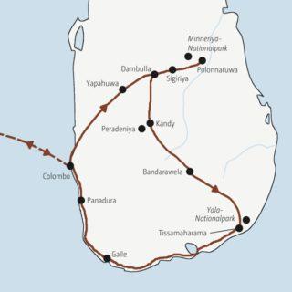 Entspannte Rundreise zu den Höhepunkten Sri Lankas