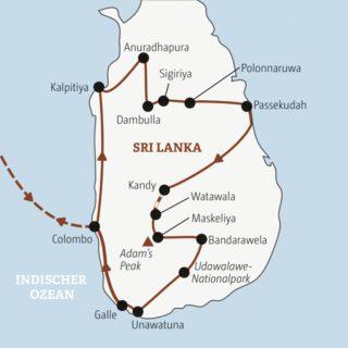 Rundreise für 20- bis 35-Jährige zu den Höhepunkten Sri Lankas Young Traveller