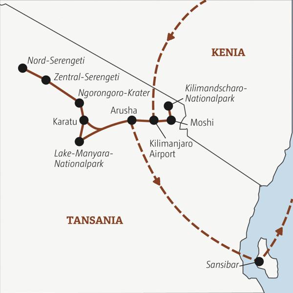 Zwei Wochen Ostafrika für abenteuerlustige Traveller zwischen 20 und 35 Young Traveller