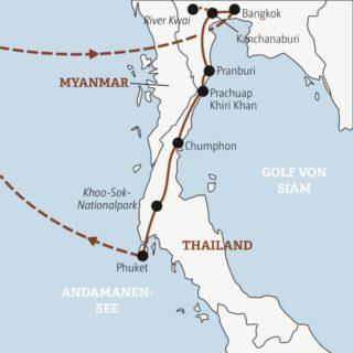 Tempel und Traumstrände: Gut zwei Wochen auf Entdeckertour durch den Süden Thailands Young Traveller