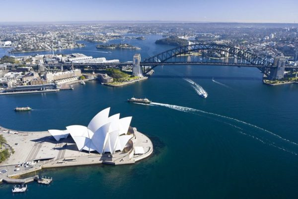 Sydney Opera House and Sydney Ha