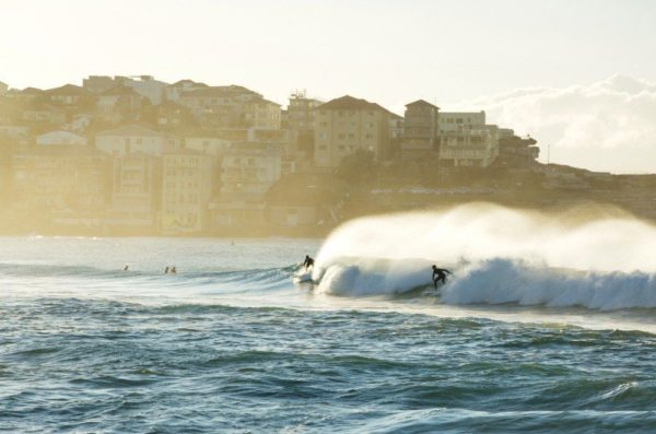 Surfer in Sydney