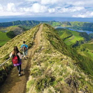Wanderung beim Sete Cidades - Veraçor / Associação Turismo dos Açores (ATA) - © Veraçor / ATA