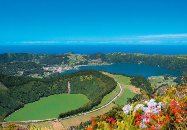 Miradouro von Sete Cidades - Turismo Acores/Gustav A. Wittich - © Turismo Açores / G. A. Wittich