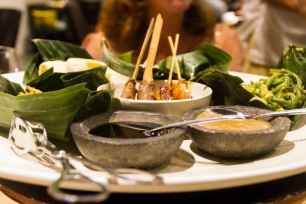 Traditionelles balinesisches Gericht