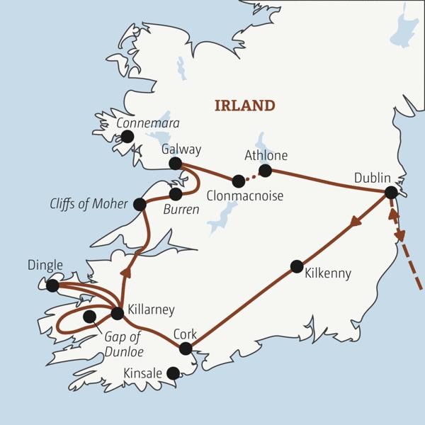 Irland Rundreisen junge Leute 2019