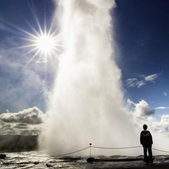 Island – Insel aus Feuer und Eis mit Nachtrückflug