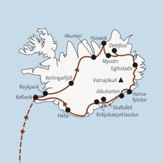 In 13 Tagen einmal rund um Island: Gletscher