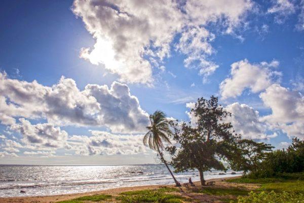 Strand von Kribi