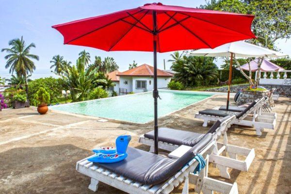 Das Hotel Ilomba in Kribi