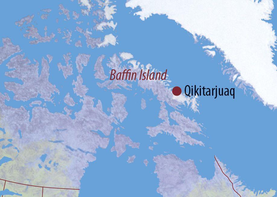 Karte Reise Kanada | Nunavut Eisbären auf Baffin Island 2020