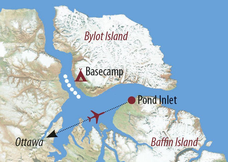 Karte Reise Kanada | Nunavut Im Reich der geheimnisvollen Narwale 2020