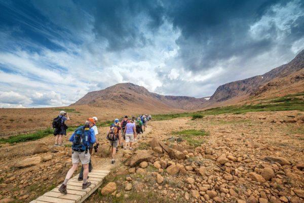 Wanderung im Gros Morne NP