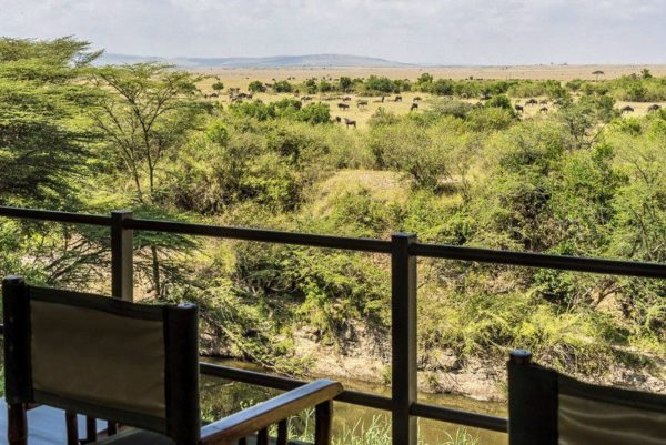 Ausblick vom Mara Ilkeliani Camp