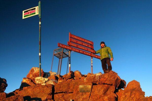 Uwe am Point Lenana, Mount Kenya
