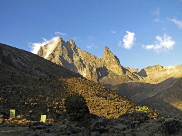 Gipfel Batian Nelion
