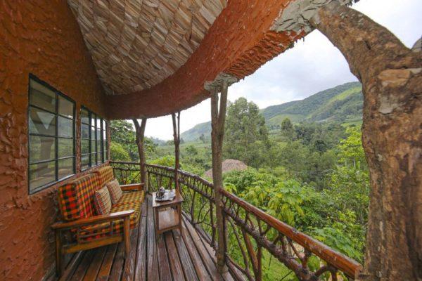 Mahogany Springs Lodge – Morgendlicher Kaffee auf der Terrasse