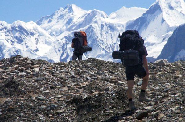 Trekker im Tienschan
