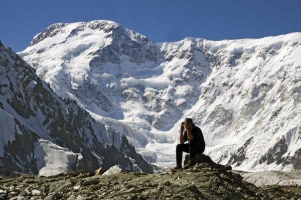 Bergpanorama im Tienschan