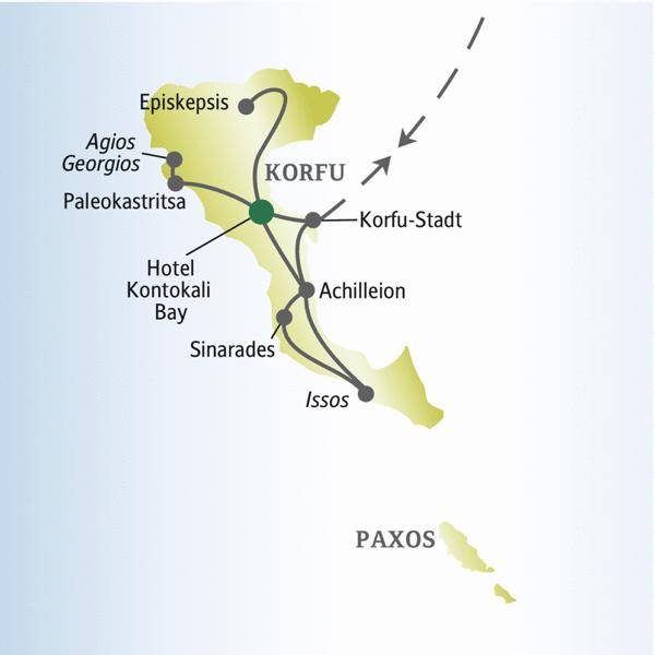 Entdecken Sie die Highlights von Korfu mit anderen weltoffenen Singles und Alleinreisenden