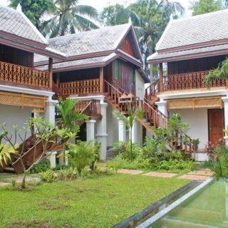 Davita Boutique Hotel in Luang Prabang – Garten