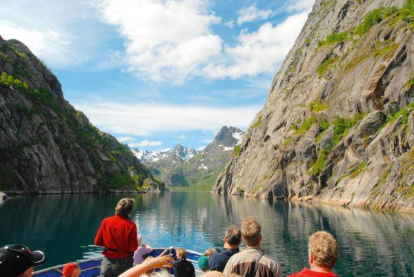Blick in den Fjord - Volker Boehlke