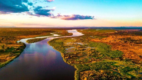 Landschaft am Shire-Fluss