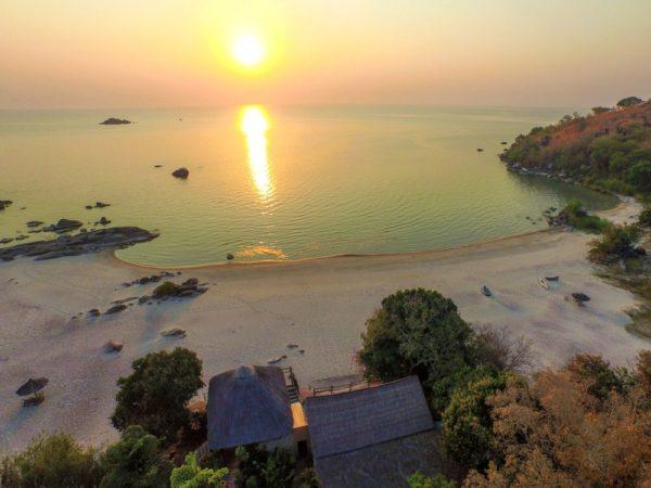 Makuzi Beach am Malawi-See