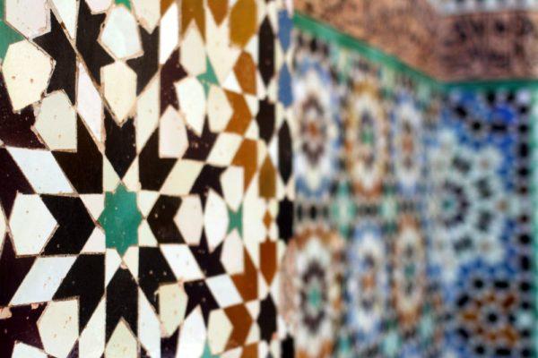 Mosaik in Marrakesch