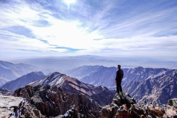 Toubkal Gipfel