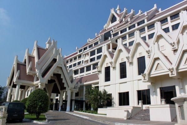 Aussenansicht, Rose Garden Hotel, Yangon