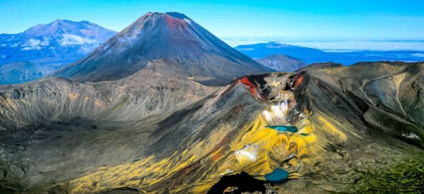 Tongariro-Panorama