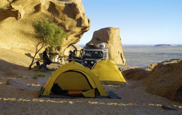 Zelte der Campingsafari