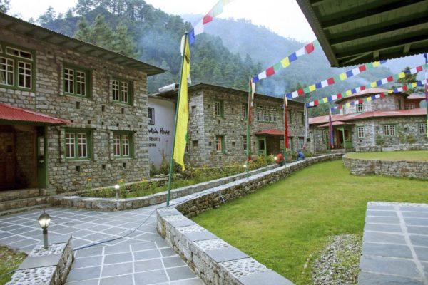 Yeti Mountain Home Phakding – Außenbereich