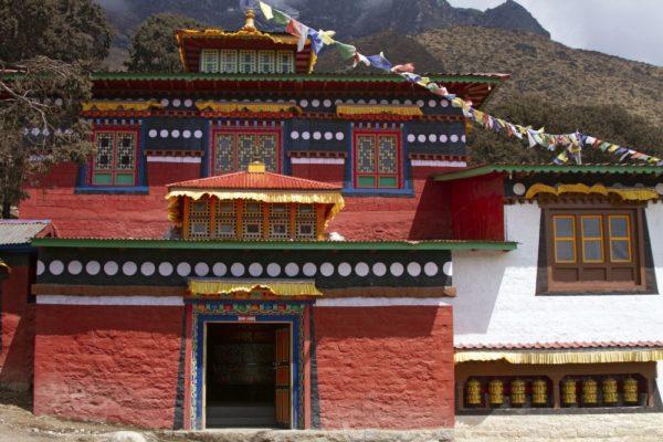 Kloster oberhalb von Namche Bazar