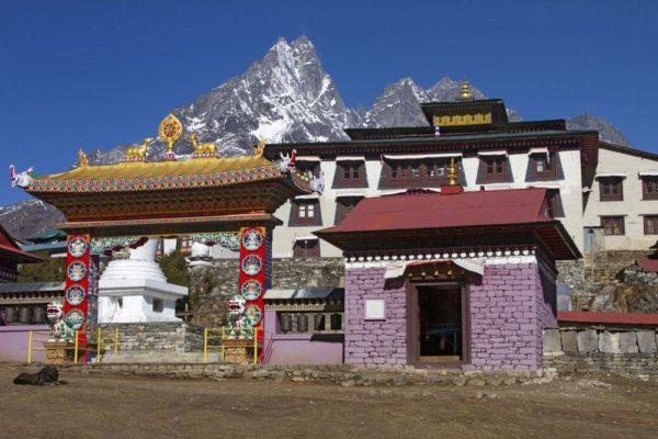 Sherpa-Kloster von Tengboche (3860m)